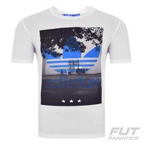 Camiseta Adidas Court Trefoil Originals - Futfanatics