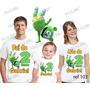 Camiseta Gummy Bear Aniversario Festa Kit Com 3 Uni