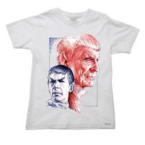 Camiseta Infantil Star Trek Jornada Nas Estrelas U - 2 Ao 16