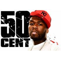 Camisa Camiseta Rap Hip Hop - 50 Cents, 2 Pac, Eminem, Snoop