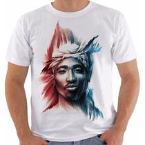 Camiseta Tupac Shakur 2pac Gangsta Modelo 6