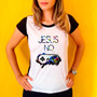 Camiseta Feminina Babylook,cristã,jesus,star Wars,nerd