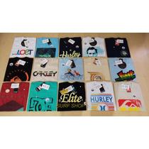 Kit 20 Camisetas Quiksilver Lost Ripcurl Hurley Original 1li