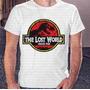 Camisa Estampa Masculina The Lost World Jurassic Park