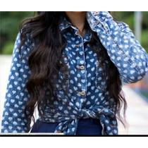 Camisa Jeans Fashion Ultima Tendencia