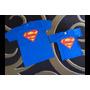 Camiseta Personalizada Adulto Ou Infantil Super Man Ou Men