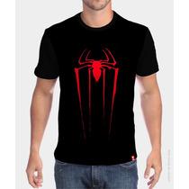 Camiseta Símbolo - Homem Aranha - Cidade Do Herói