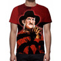 Camisa, Camiseta Freddy Krueger - Estampa Total