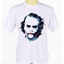 Camisa Camiseta Personalizada Coringa Batman Joker Msculino