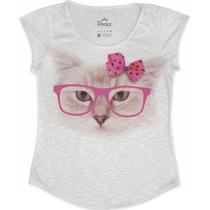 T-shirt Feminina - Lindas Estampas Disponíveis No P - M E G