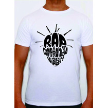 Camisa Rap Nacional Sabotage Eterno Rap E Compromisso Plt