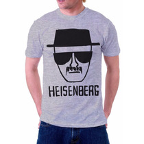 Camiseta Camisa Breaking Bad Heisenberg Série