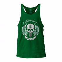 Camiseta Super Regata Fitness Musculação Roupas Masculina
