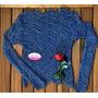 Blusa Tricot Outono Inverno Tricô Blusa Fina Malha Mais Amor