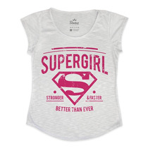 T-shirt Super Girl - Blusa Feminina
