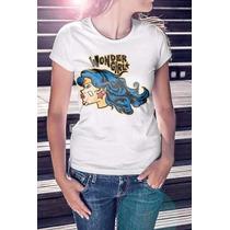 Camiseta Basica Feminina Wonder Girl