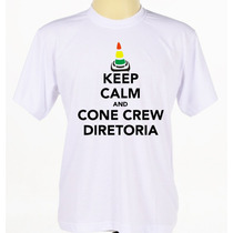Camiseta Camisa Banda Rock Hip Hop Rap Cone Crew Diretoria