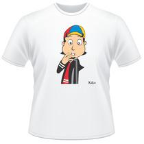 Camiseta Camisa Turma Do Chaves Quico Kico