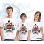 Lembrança De Aniversario Patrulha Canina Camiseta Kit Com 3