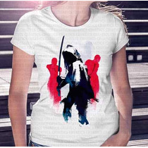 Camisa Estampa Feminina The Walking Dead Michone