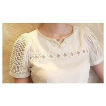 Blusinha Feminina/perolas/camisa/blusa/importada