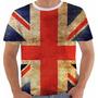 Camiseta Reino Unido Uk Union Jack Inglaterra British Grunge