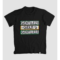 Camiseta Gentileza Gera Gentileza - Estampa Divertida