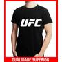 Camiseta Personalizada Ufc Jiu Jitsu Muay Thai Mma