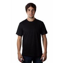 Camiseta Básica Cavada (slim Fit) Fio 30 Color. 100% Algodão