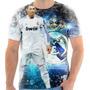 Camiseta Camisa Cristiano Ronaldo Real Madrid Cr7 Mod 04