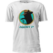 Camiseta Phineas Ferb Perry Agente P