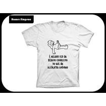 Camiseta Homer Simpson - Camisa Desenho