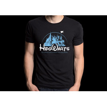 Camiseta Hogwarts Disney Camisa Harry Potter