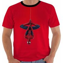 Camiseta Spider Man - Homem Aranha - Peter Parker - Hq