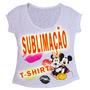 Camisetas Para Sublimação Atacado Feminina T-shirt Blusa