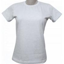 Kit 10 Camisetas Baby Look Feminina Gola V Ou U Sublimação