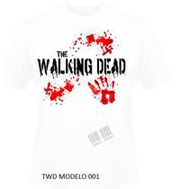 Camiseta The Walking Dead- Feminino E Masculino