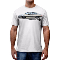 Camiseta Omega Carro Antigo Automotiva Chevrolet