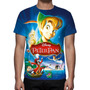 Camisa, Camiseta Disney Peter Pan - Estampa Total