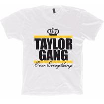 Camisa Hip Hop Rap Wiz Khalifa - Taylor Gang - 100% Algodão!