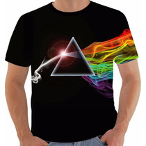 Camiseta Pink Floyd 4 David Gilmour Roger Waters Mason Wrigh