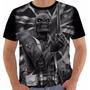 Camisa Camiseta Baby Look Iron Maiden Eddie The Trooper Pb