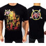 Camiseta Slayer Reign In Blood Consulado Do Rock