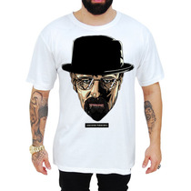 Camisa Série Breaking Bad Heisenberg Colorida Estampada B