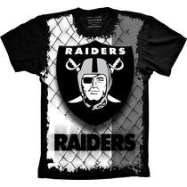 Camiseta Raiders Oakland Futebol Americano Camisa Raiders