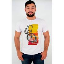 Camisetas - Bike - Estampa Personalizada - Engraçadas