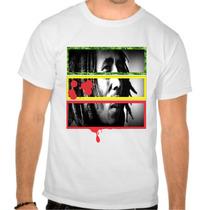 Camisetas Camisa Bob Marley Marijuana Reggae Roots 4:20 Alg