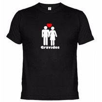 Camisetas Engraçadas Grávidos