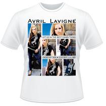 Camiseta Avril Lavigne Pop Punk Rock Camisa #2