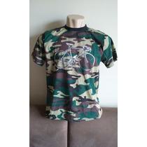 Camiseta Bicicleta Caloi 10 Exército Camuflada